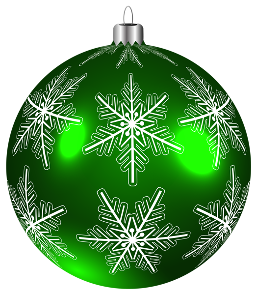 clip art royalty free library Beautiful Green Christmas Ball PNG Clip
