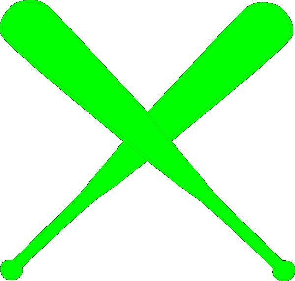 svg transparent library Green clipart baseball bat. Hot bats clip art