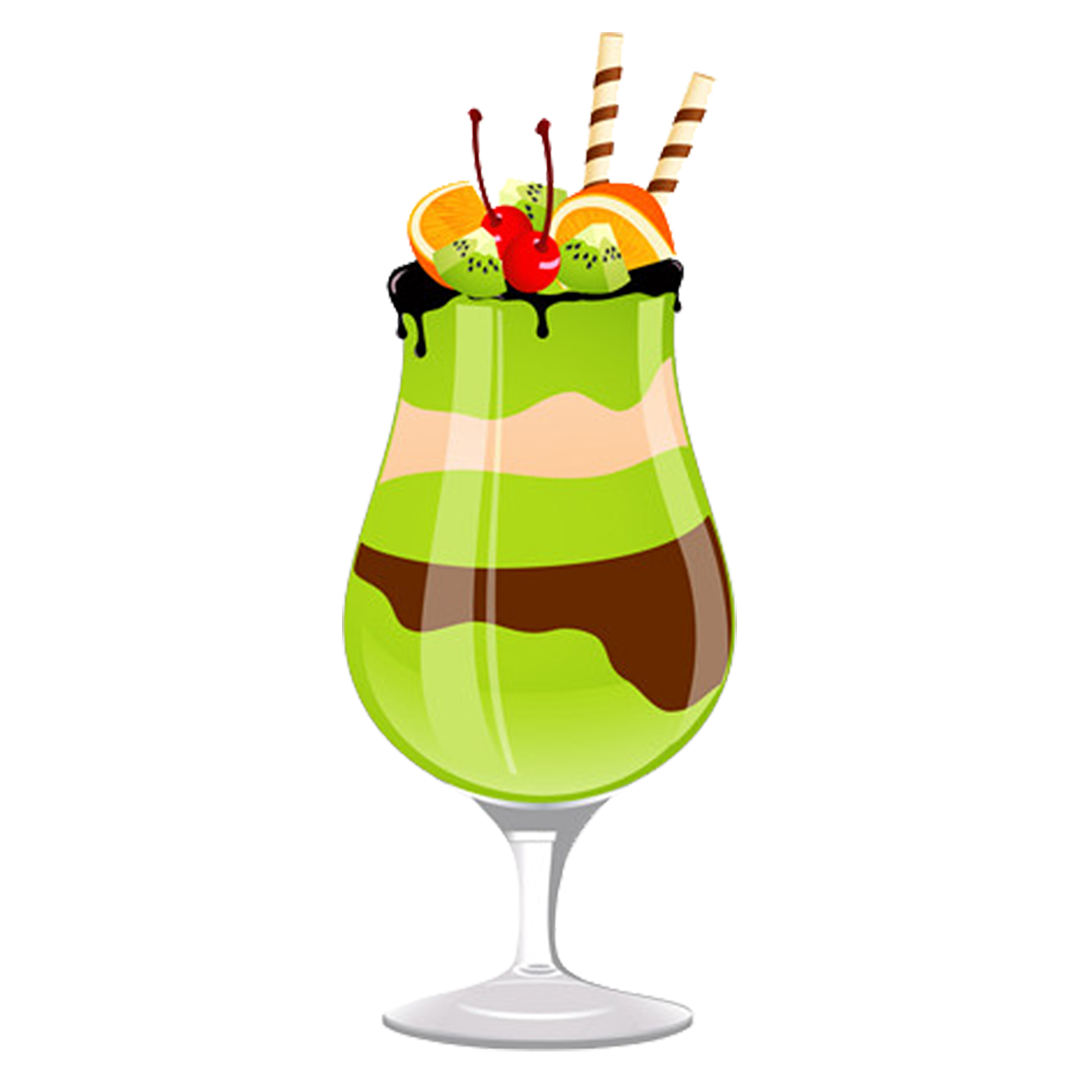 picture freeuse Ice cream drink tomato. Green clipart milkshake