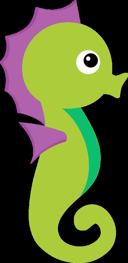 jpg freeuse library Clip art apliques para. Mermaid clipart seahorse.