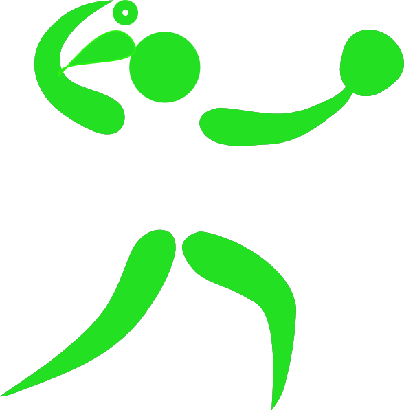 clipart library library Player with pony tail. Green clipart softball
