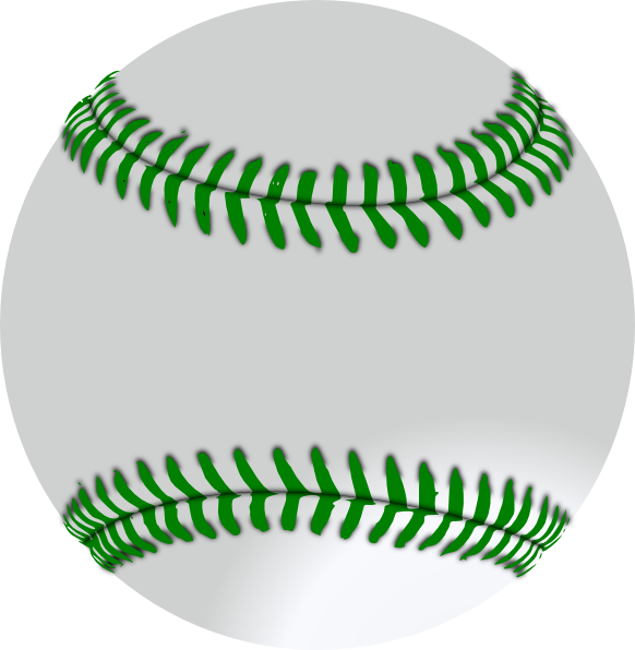 transparent library Baseball clip art at. Green clipart softball