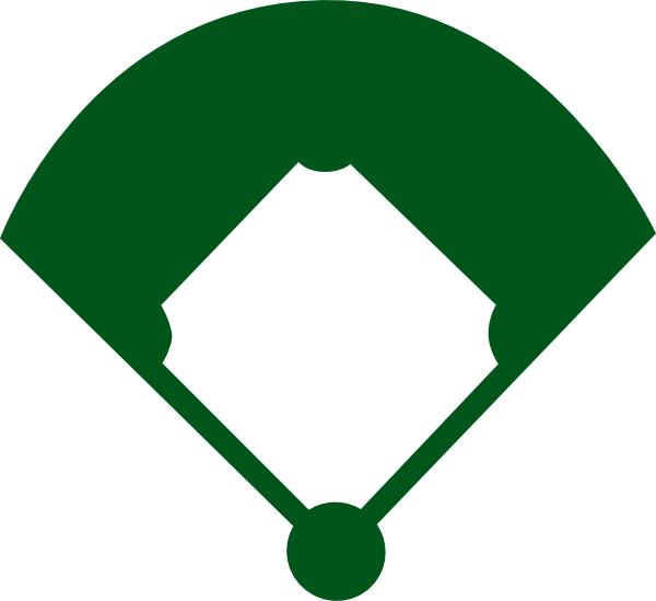royalty free download Green clipart softball. Field panda free images