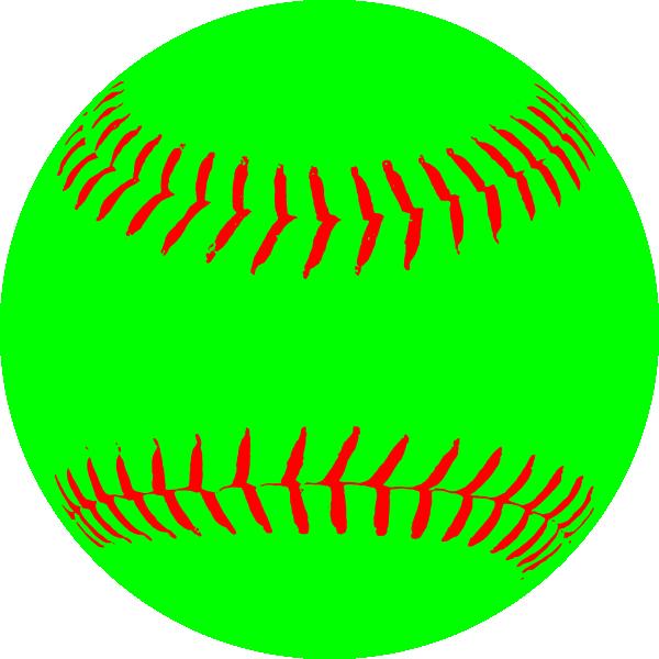 clip download Clip art at clker. Green clipart softball