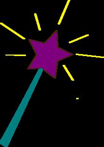 jpg royalty free download Green clipart wand. Star clip art at