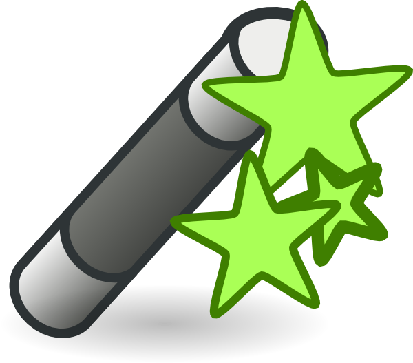 svg library Magic clip art at. Green clipart wand
