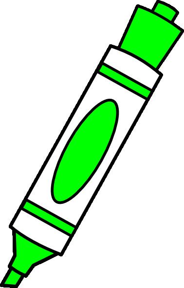 svg black and white download Dry erase marker clipart. Green color clip art