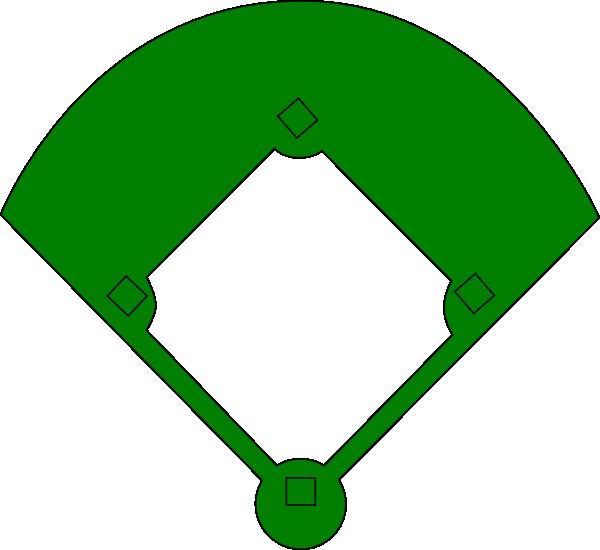 graphic stock Green Baseball Field Clip Art at Clker
