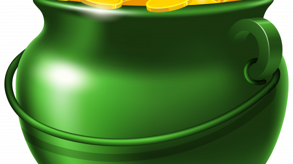 png transparent Colossal Pot Of Gold Picture St Patricks Day Clipart