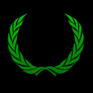 image freeuse Green vector. Wreath clip art at