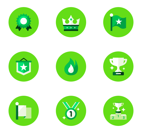 clip transparent stock Green vector. Essential circle icon family