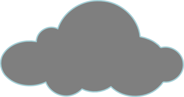 image stock Grey Clouds Clipart