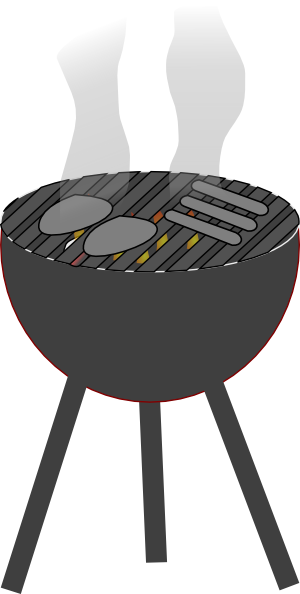 banner library download Barbecue clip art at. Grilled clipart propane grill