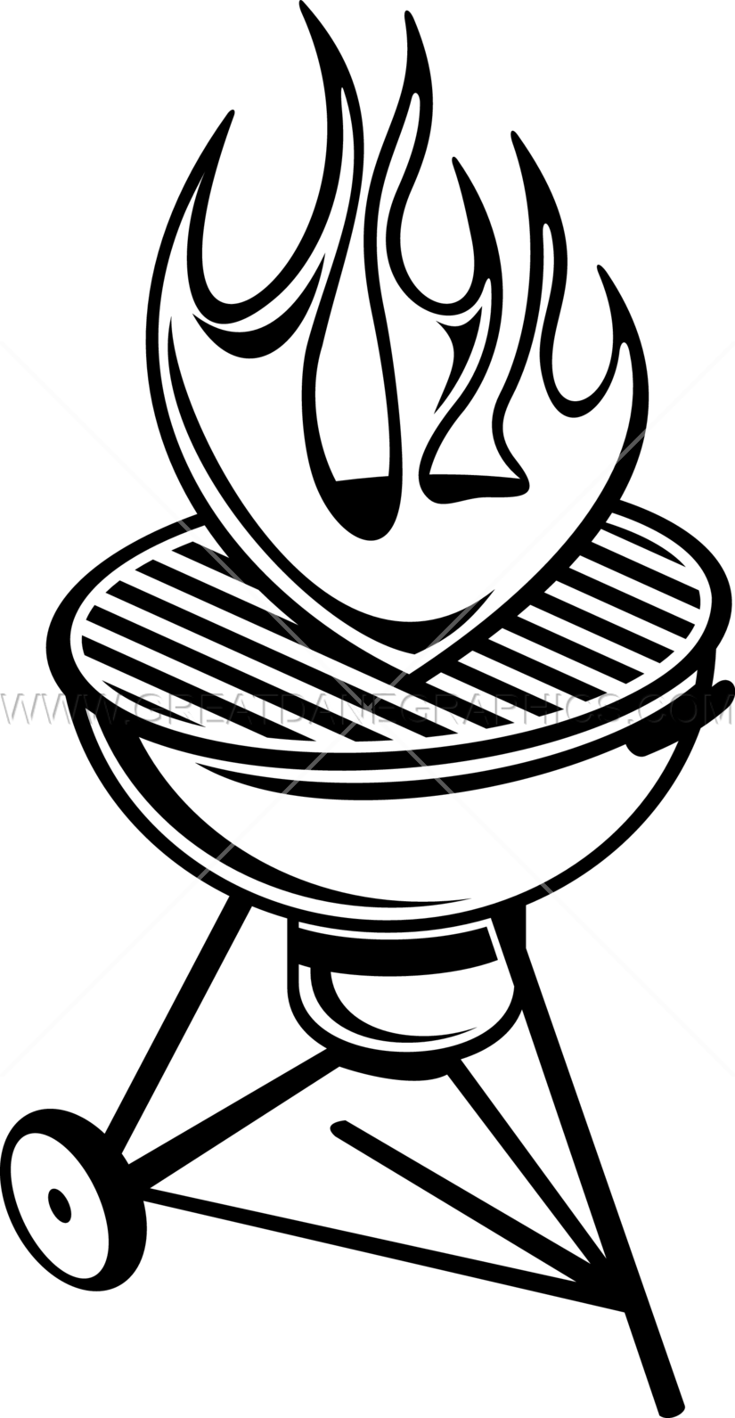 jpg royalty free stock Barbecue drawing at getdrawings. Grill clipart black and white