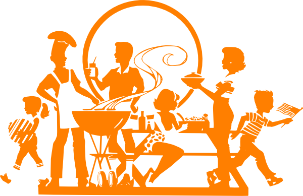image library library Family Bbq Clip Art at Clker