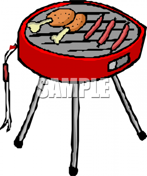 clip download Grill panda free images. Grilled clipart.