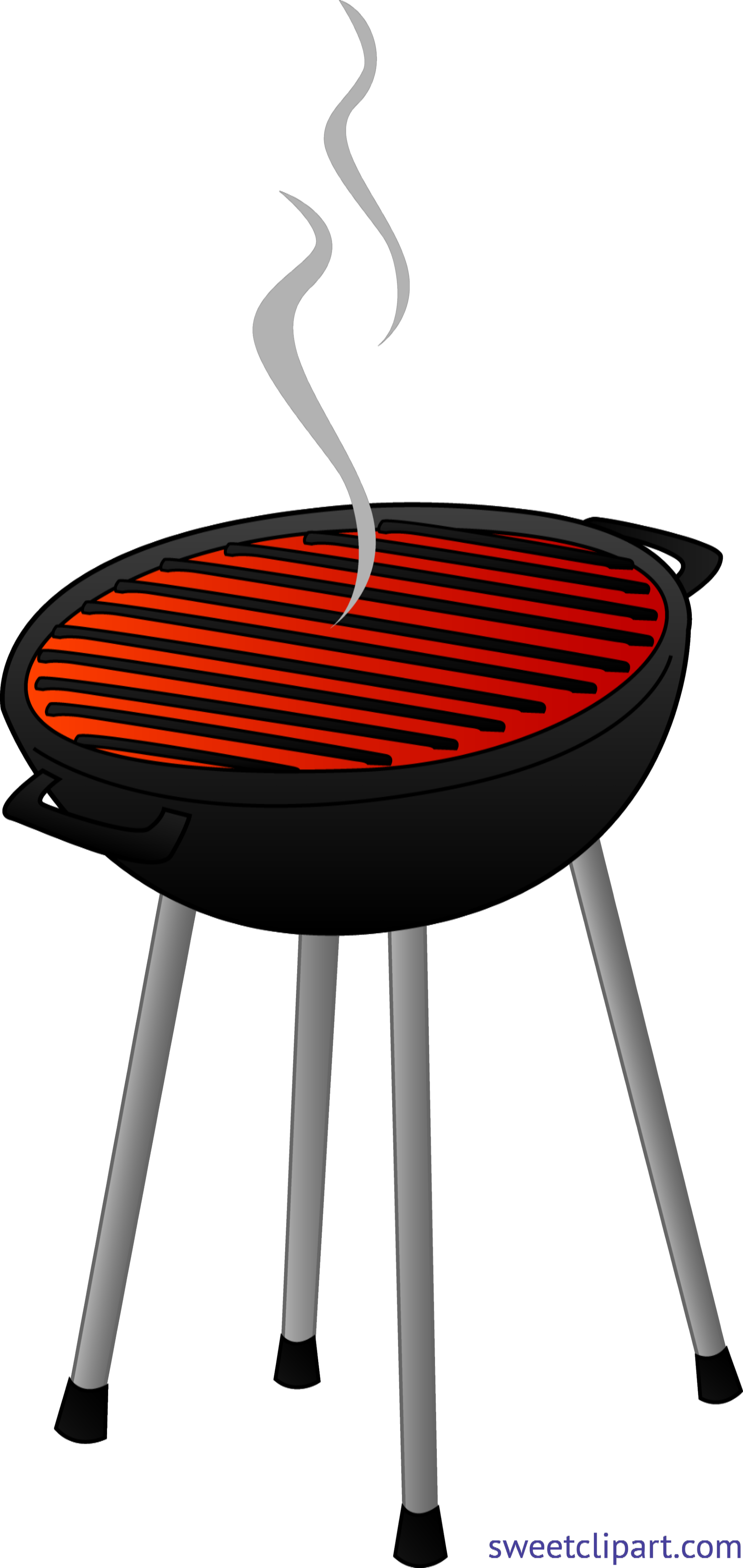 svg freeuse Barbecue Grill Clip Art