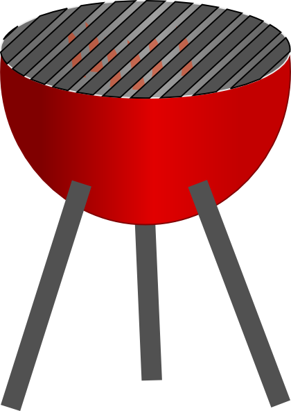 banner freeuse download Barbecue clip art at. Grilled clipart outdoor grill