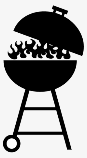 clipart library Grilled clipart outdoor grill. Barbecue clip art black