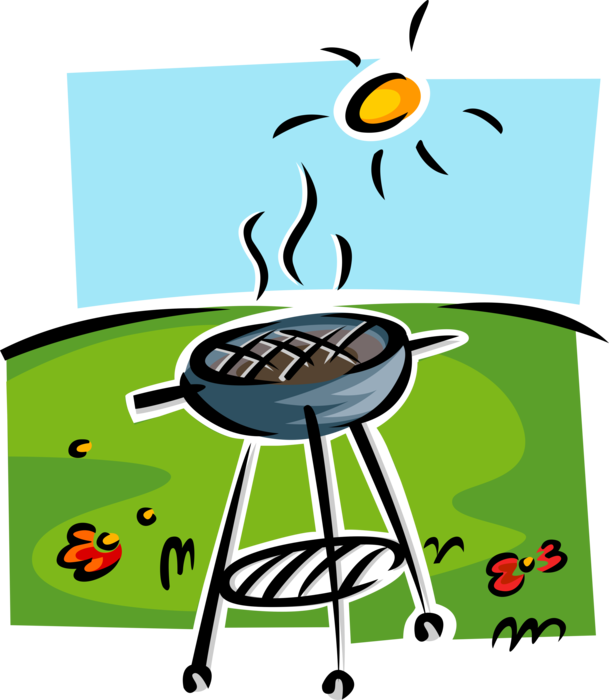 png free Barbeque or bbq vector. Grilled clipart outdoor grill