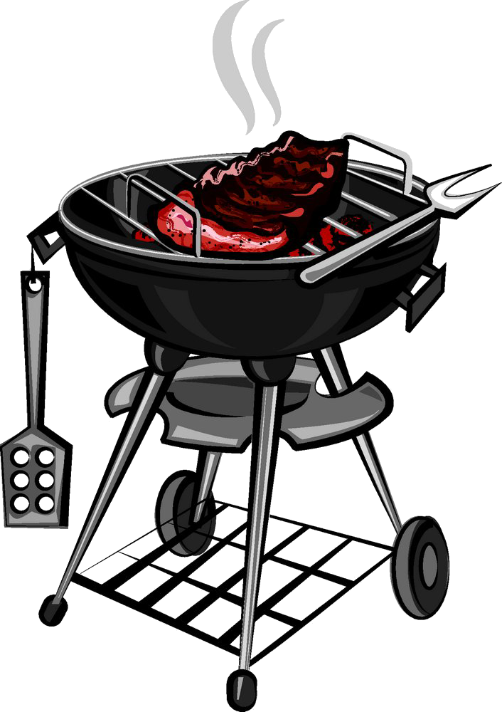 image library Barbecue grilling clip art. Grilled clipart outdoor grill