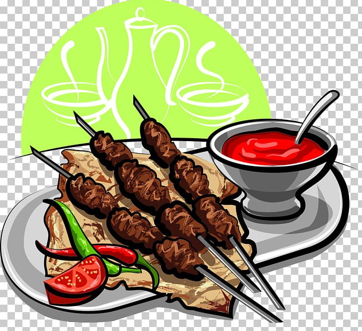picture royalty free stock Barbecue steak ribs png. Grilled clipart shish kebab