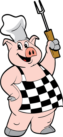 clip black and white library Grilling clipart pulled pork bbq. Catering companies tom s