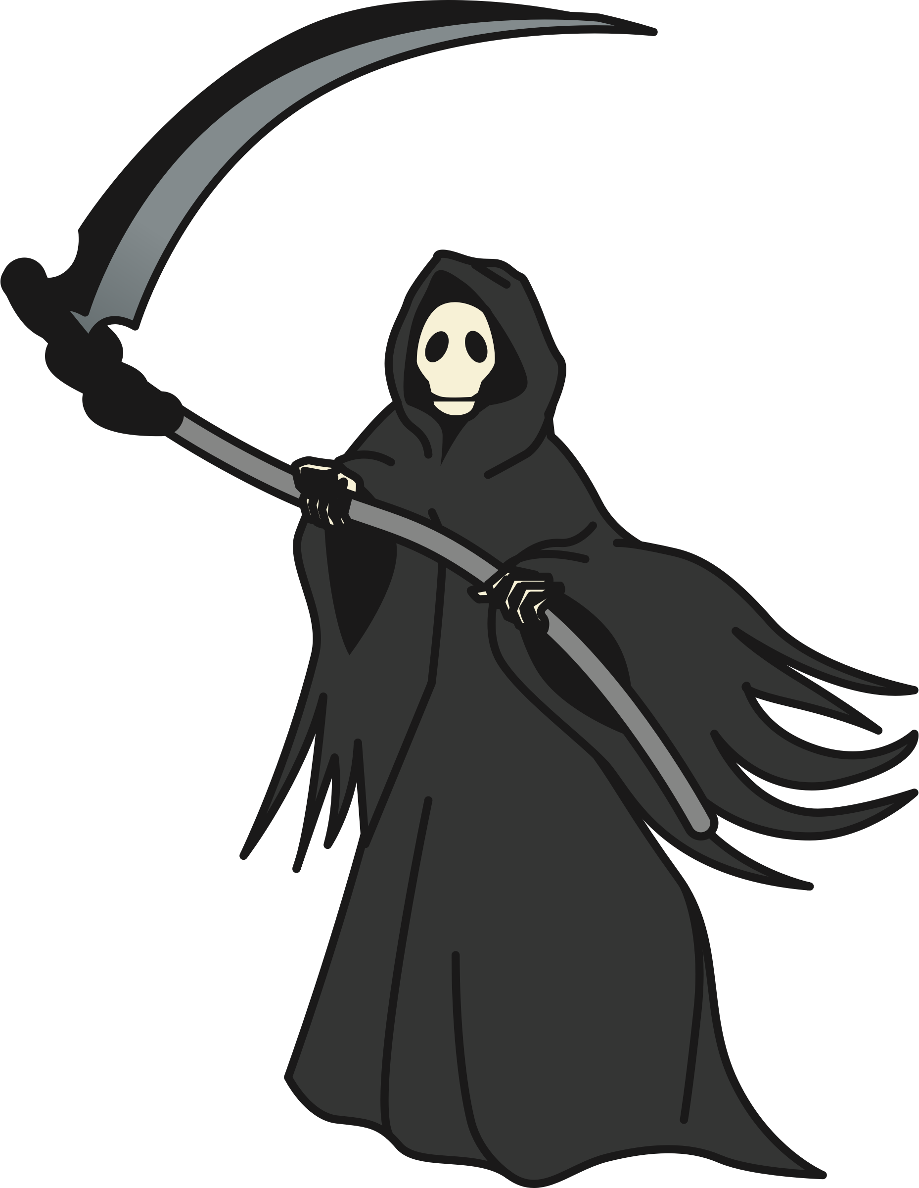 graphic download Grim reaper clipart. Big image png