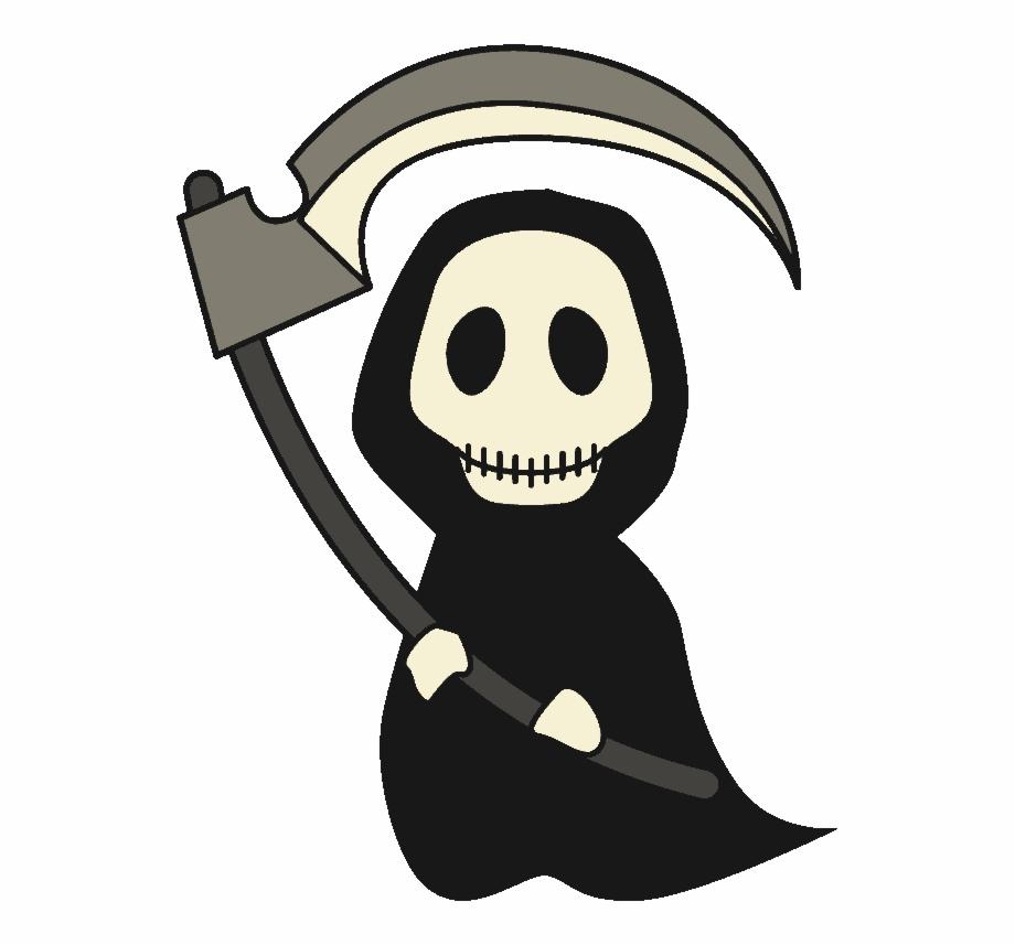 free download Cartoon png clip art. Grim reaper clipart bone