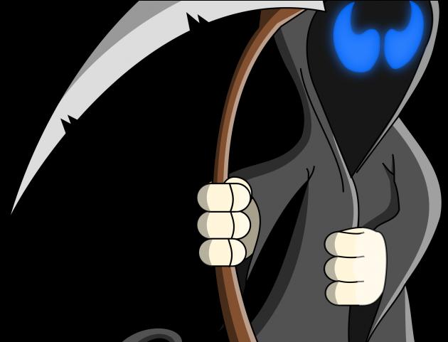 free download Grim reaper clipart bone. Cartoon png clip art