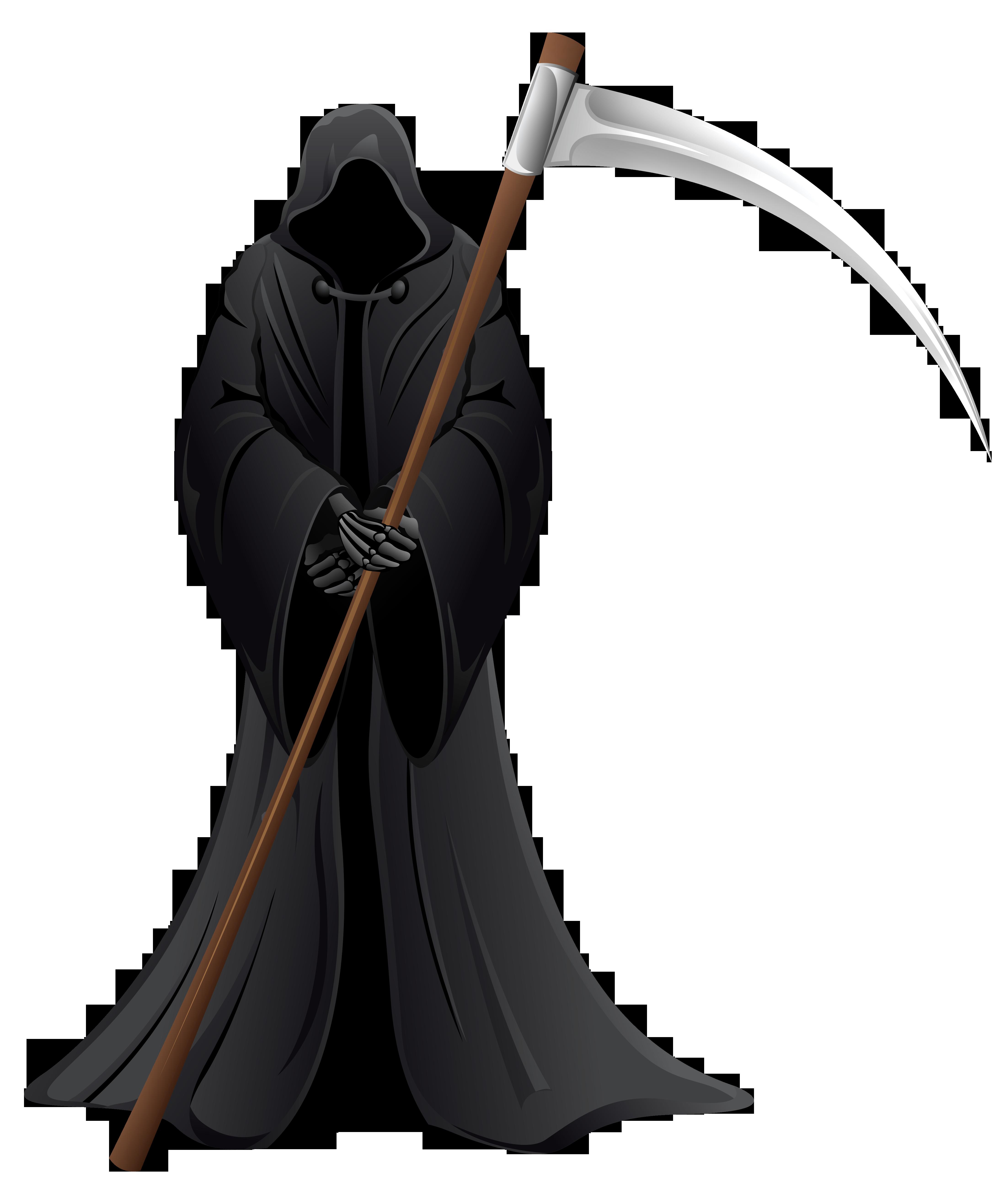 clipart library Grim reaper clipart demise. Transparent background frames illustrations