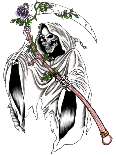 png royalty free download grim reaper tattoos