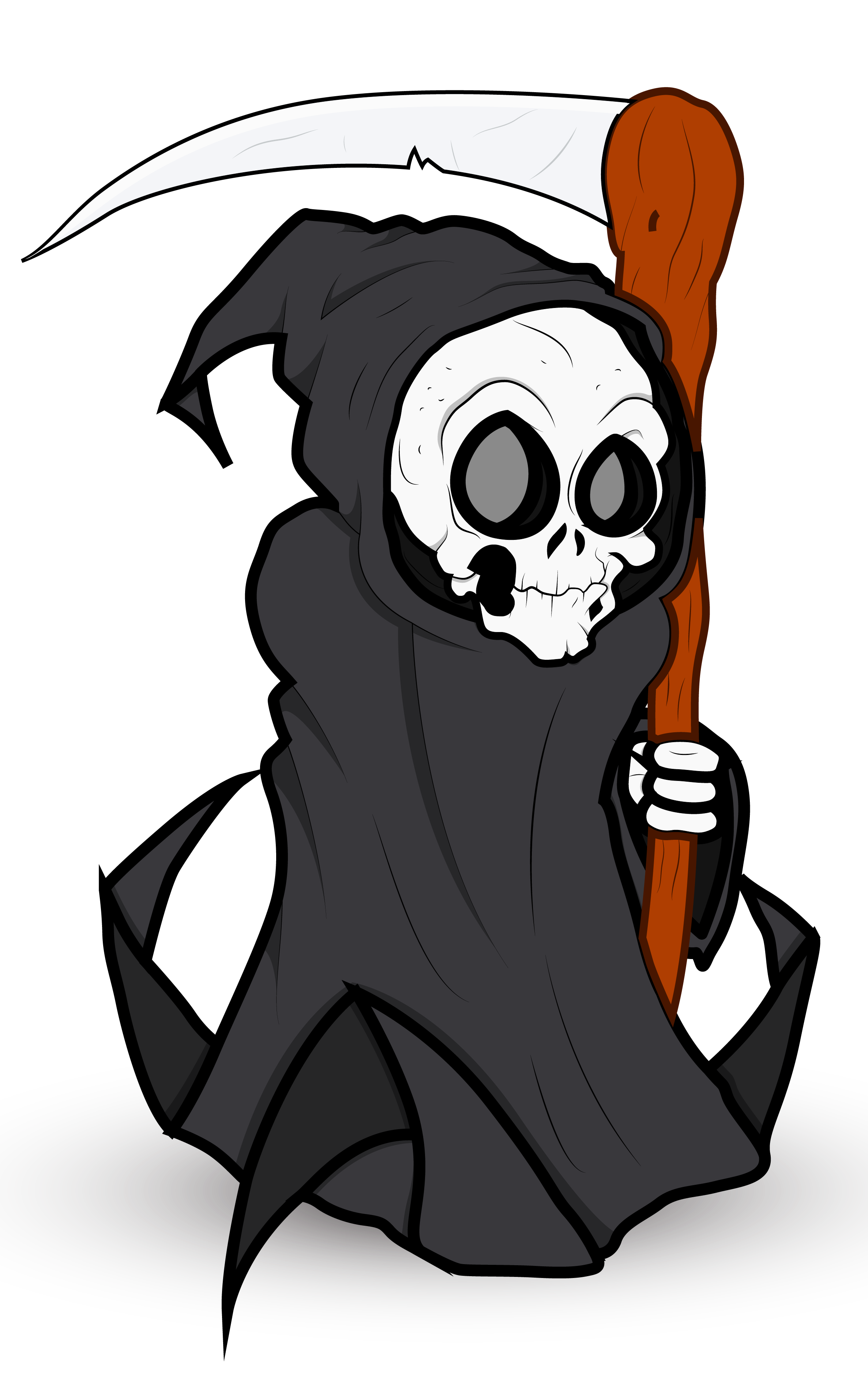 jpg free download Halloween png gallery yopriceville. Grim reaper clipart easy