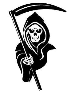 image Grim reaper clipart grm. Tattoo designs in clip