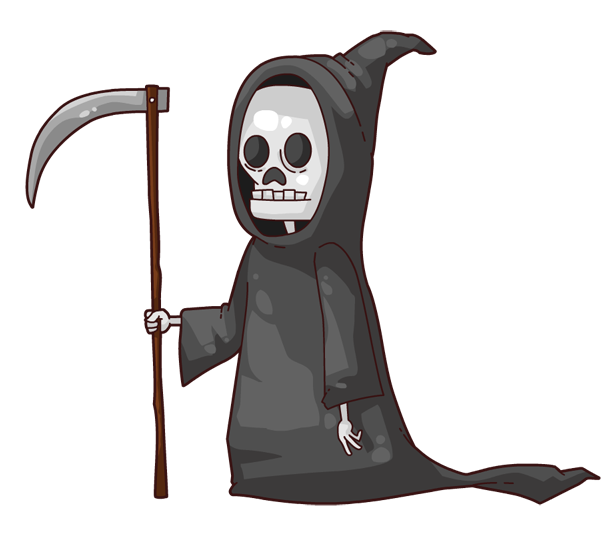 png freeuse stock Death symbol free on. Grim reaper clipart grm