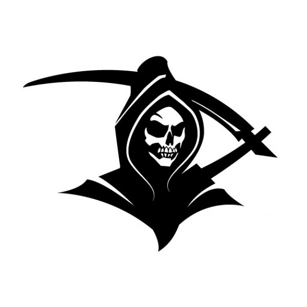 vector library library Free icons library . Grim reaper clipart icon