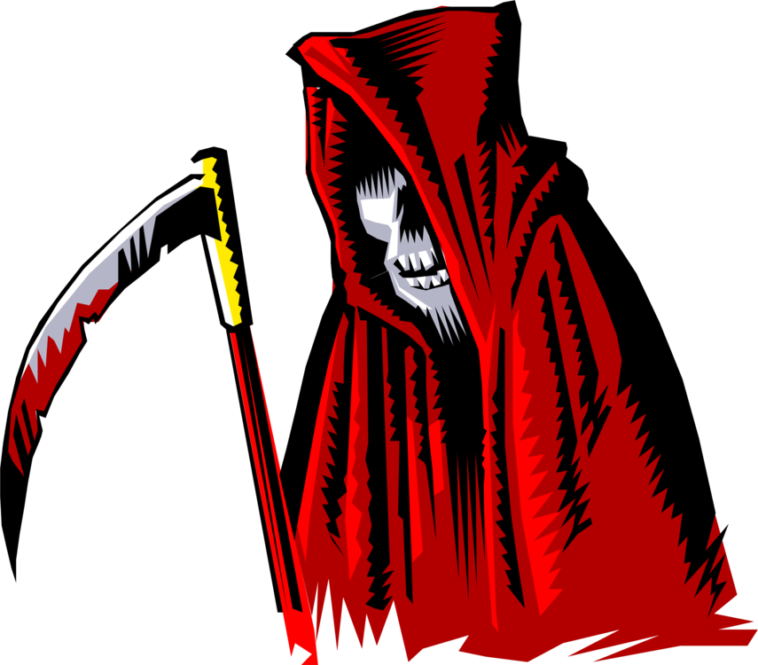 banner transparent Death halloween wikimedia commons. Grim reaper clipart killer