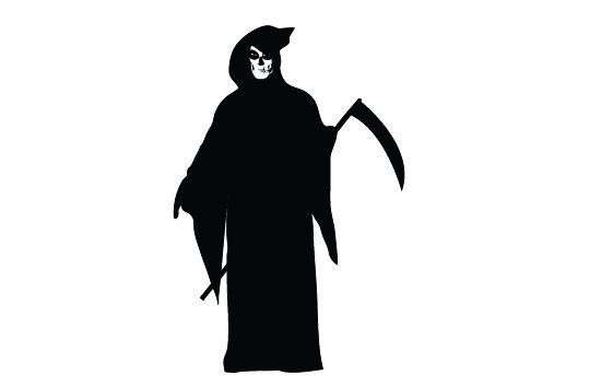 jpg transparent download Grim reaper clipart silhouette. Free vector clip art