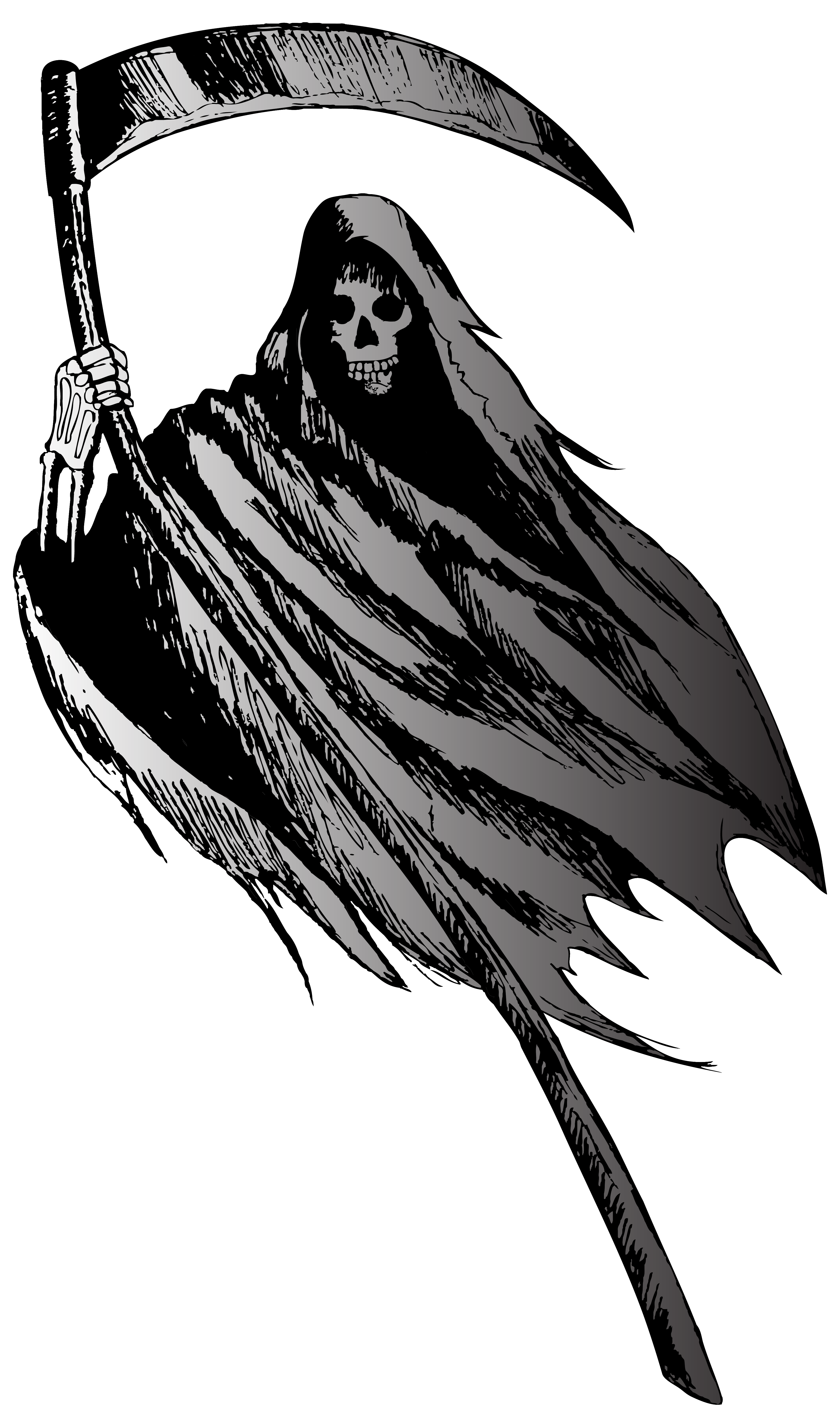 banner free library Png image gallery yopriceville. Grim reaper clipart silhouette
