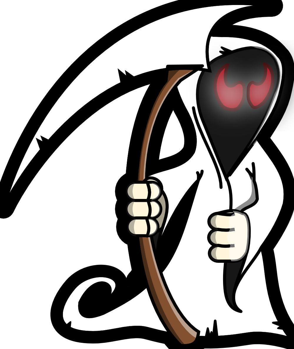 download Grim reaper clipart tribal. Free collection download and