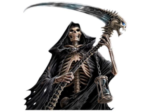 svg free stock Grim reaper clipart tribal. Free collection download and