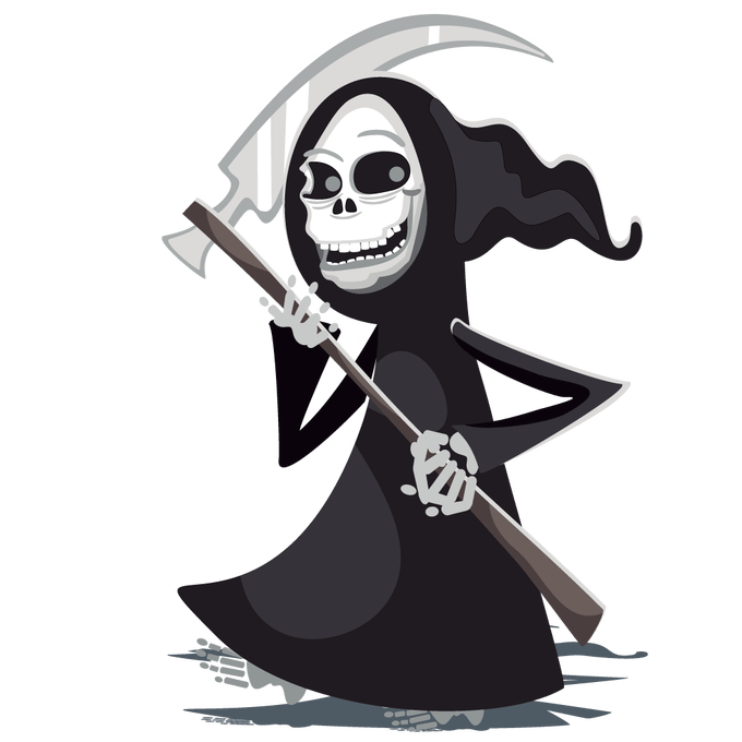 picture royalty free stock Free pics of siewalls. Grim reaper clipart tribal
