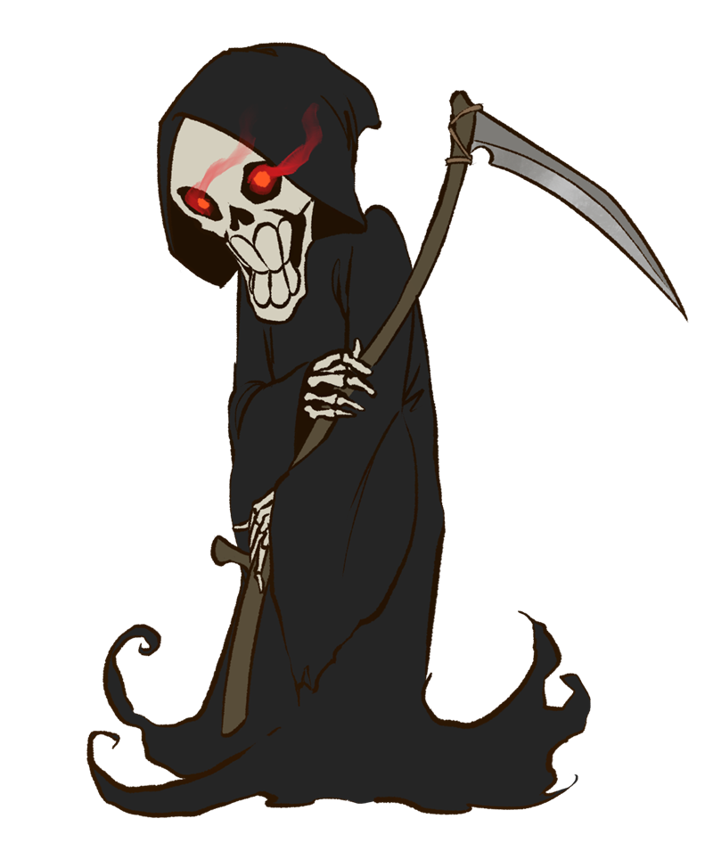 graphic free Free collection download and. Grim reaper clipart tribal