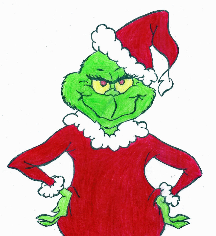 clip black and white library Grinch clipart. Free cliparts download clip.