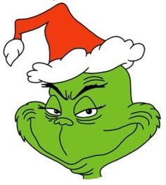 clipart black and white library Grinch clipart. Image result for free.