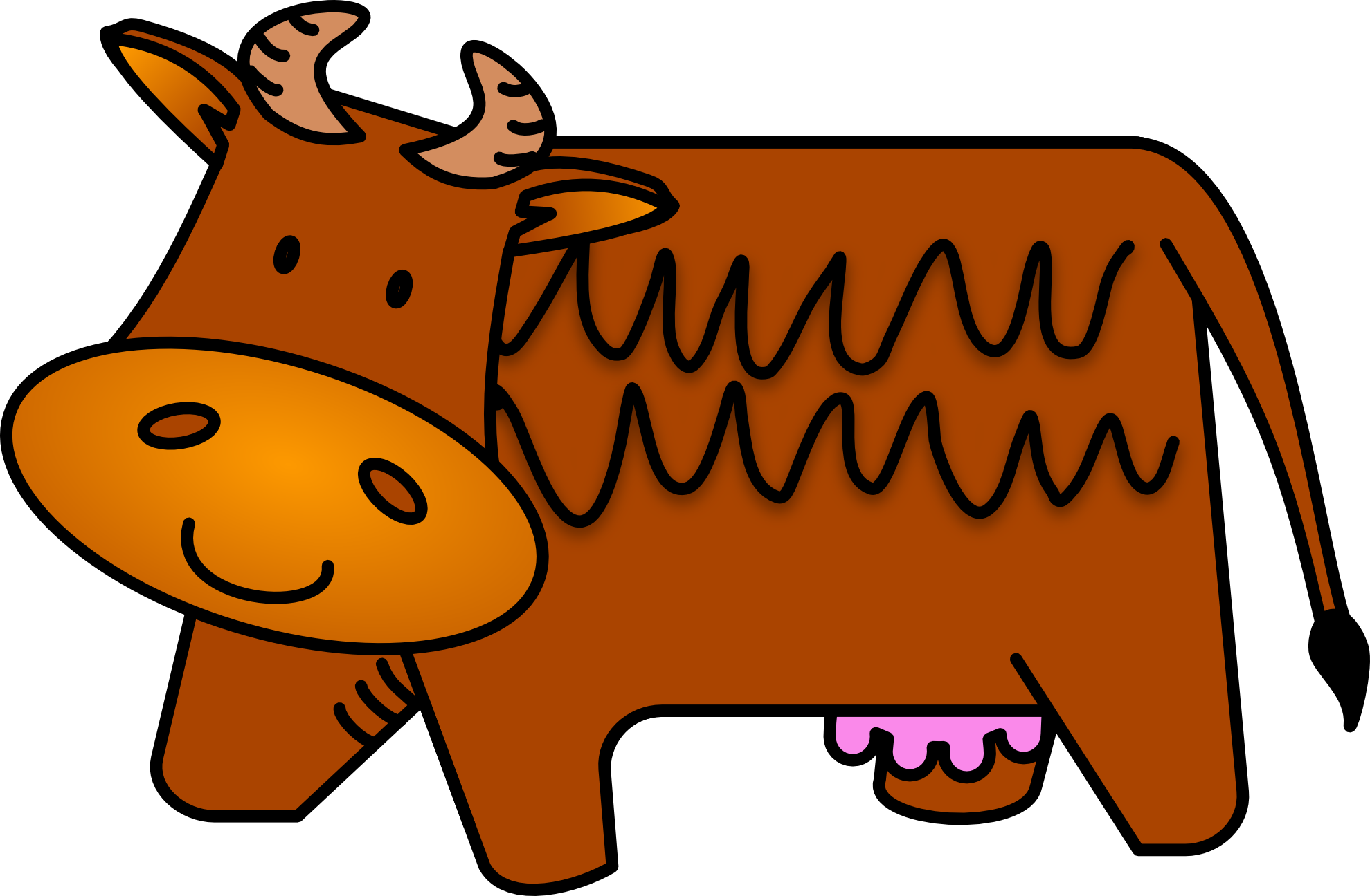 svg free stock Grinch clipart cow. Charlie brown group free