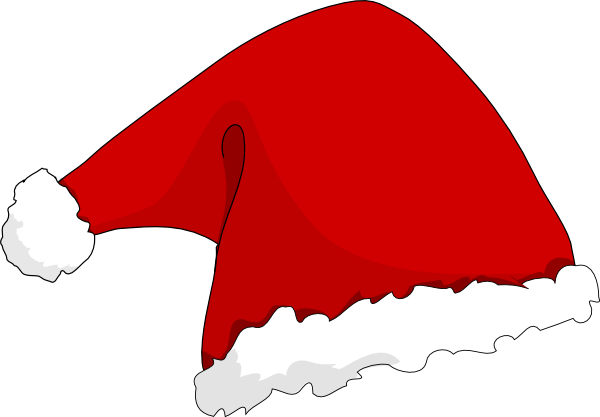 vector free Santa Hat Clipart