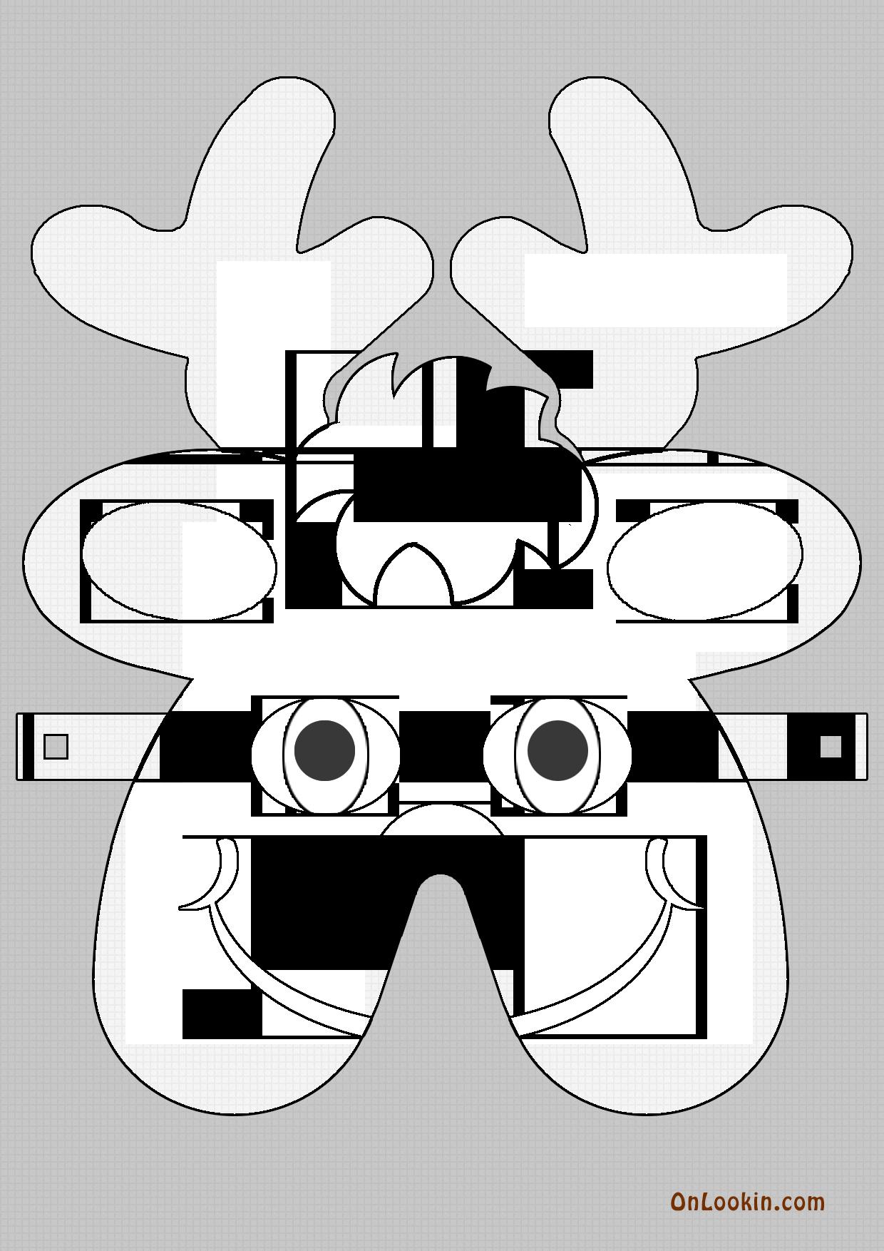 jpg library Grinch clipart mask. Best photos of santa