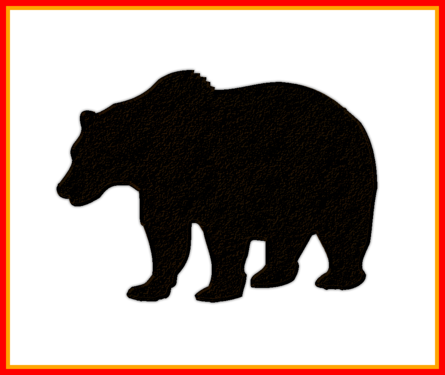 clip art black and white library Grizzly bear clipart. Incredible http broadviewacres net