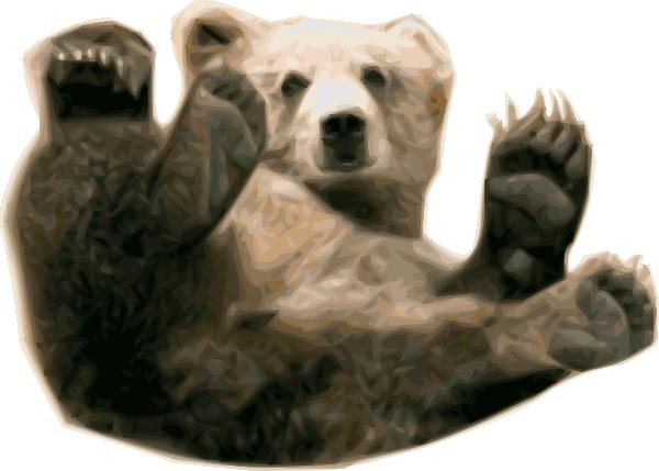 clip art transparent Bear clip art at. Grizzly clipart